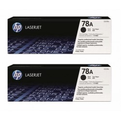 HP Toner 78A schwarz, Doppelpackung (CE278AD)
