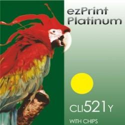 Platinum CLI-521Y mit Chip kompatible Patrrone