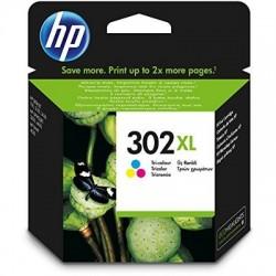 HP Druckkopf mit Tinte Nr 302 XL farbig (F6U67AE)