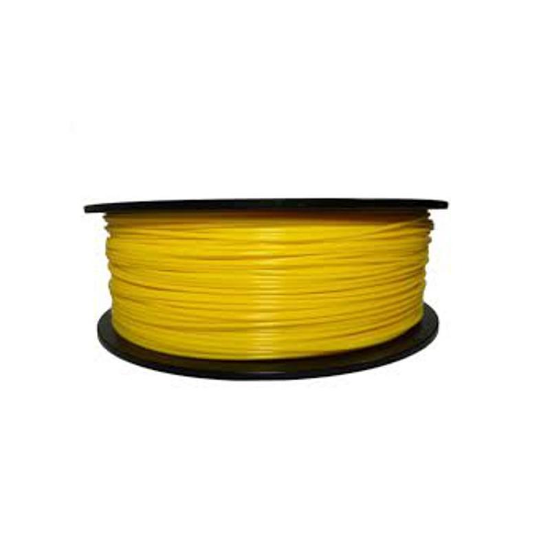 PLA Filament 1000g 1.75mm dunkelgelb (code 107c)