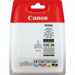 Canon CLI-581 Photo Value Pack (2106C004/2106C005)