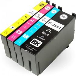 Kompatible Tinte zu Epson 35 XL cyan