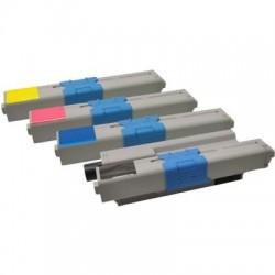 Kompatibler Toner zu OKI 46508709 gelb hohe Kapazität