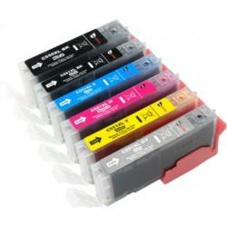 Tintenpatrone kompatibel zu Canon PGI550XLBK/CLI551XL C/M/Y + grau mit Chip Multipack