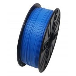 3D Filament 1,75 mm PLA FLUORES blau 1000g