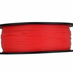 3D Filament 1,75 mm PLA FLUORES rot 1000g