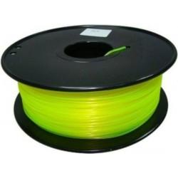 3D Filament 1,75 mm PLA FLUORES gelb 1000g
