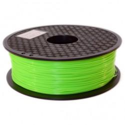 3D Filament 1,75 mm PLA FLUORES Grün 1000g