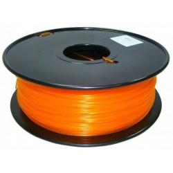 3D Filament 1,75 mm PLA TRANS orange 1000g