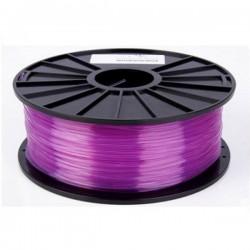 3D Filament 1,75 mm PLA TRANS lila 1000g