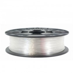 3D filament 1,75 mm P-GLASS transparent 1000g
