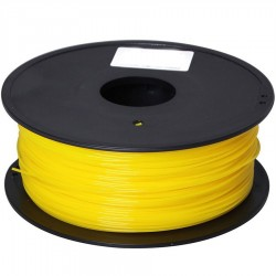 PLA Filament 1000g 1.75mm gelb grell