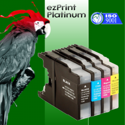 Kompatible Tinte zu Brother LC1280XL Rainbow Kit