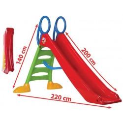 Rutsche Kinderrutsche groß 200cm Rutschbahn