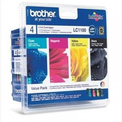 Brother LC1100 Tinte Value Pack (LC1100VALBPDR)