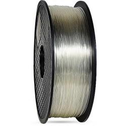 3D filament 1,75 mm TPU+TPE rubber gummi transparent 1000g