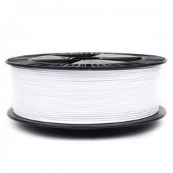 3D filament 1,75 mm TPU+TPE rubber gummi weiß 1000g