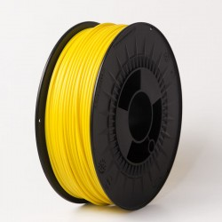 3D filament 1,75 mm TPU+TPE rubber gummi gelb 1000g