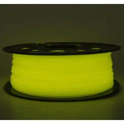 3D Filament ABS 1,75 mm Nachtleuchtend gelb 1000g