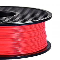 3D Filament ABS 1,75 mm Nachtleuchtend rot 1000g