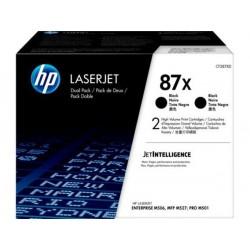 HP Toner 87X schwarz, 2er-Pack (CF287XD)