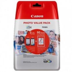 Canon Tinte PG-545XL/CL-546XL schwarz/dreifarbig hohe Kapazität Multipack