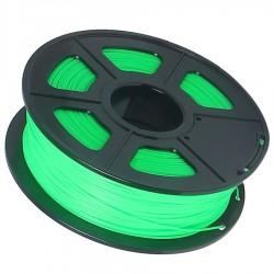 3D Filament 1,75 mm PLA FLUORES transparent grün 1000g 1kg
