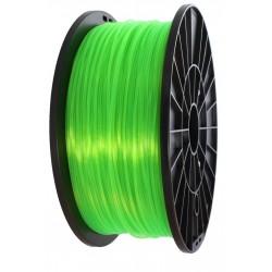 3D Filament 1,75 mm PLA TRANS grün 1000g 1kg