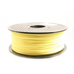 PLA Filament 1000g 1.75mm Pastell gelb