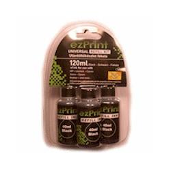 Refill-Kit schwarz für Brother 3x40ml