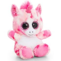 Plüsch Animotsu – Dreamy – Einhorn-Plüschtier 15cm pink