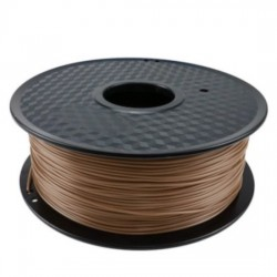 3D filament 1,75 mm Wood+PLA Compound dunkelbraun 800g