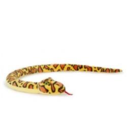Plüschtier Schlange Anakonda Boa gelb super weich 150cm XL