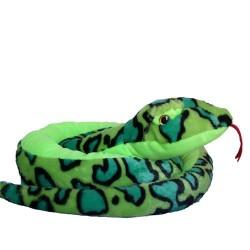 Plüschtier Schlange Anakonda Boa grün super weich 200cm XXL
