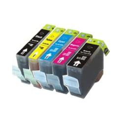 BCI-3BK/6BKCMY/PGI5/CLI8 no chip 5er Bundle kompatible Patronen (alle Farben)