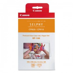 Canon RP-108 High-Capacity Color Ink/Paper Set (8568B001)