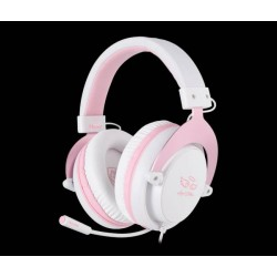 Sades Mpower Angel Edition Gamer Headset pink