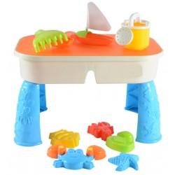 Sand- und Wasserspieltisch 10-teilig