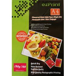 InkJet Photopapier A4 100Stk 190g matt