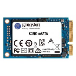 Kingston 256GB mSATA KC600 (SKC600MS/256G)