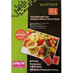 InkJet Photopapier A4 20Blatt 230g glänzend