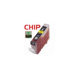Kompatible Tinte zu Canon CLI-521Y gelb