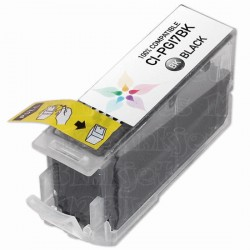 PGI-7BK mit Chip kompatible Patrone
